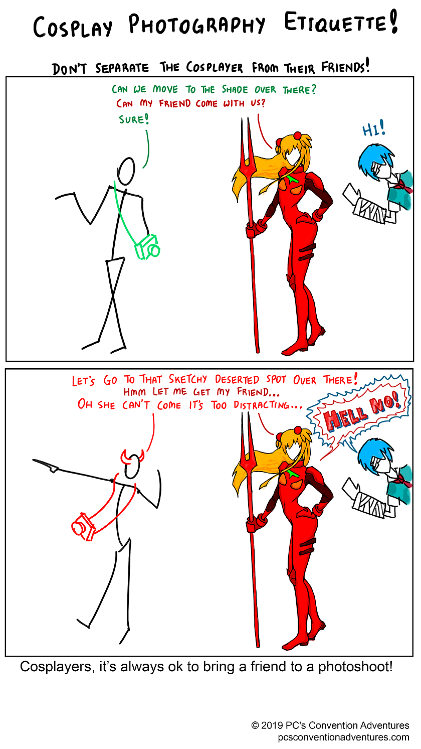 Cosplay Photographer Etiquette Page 9